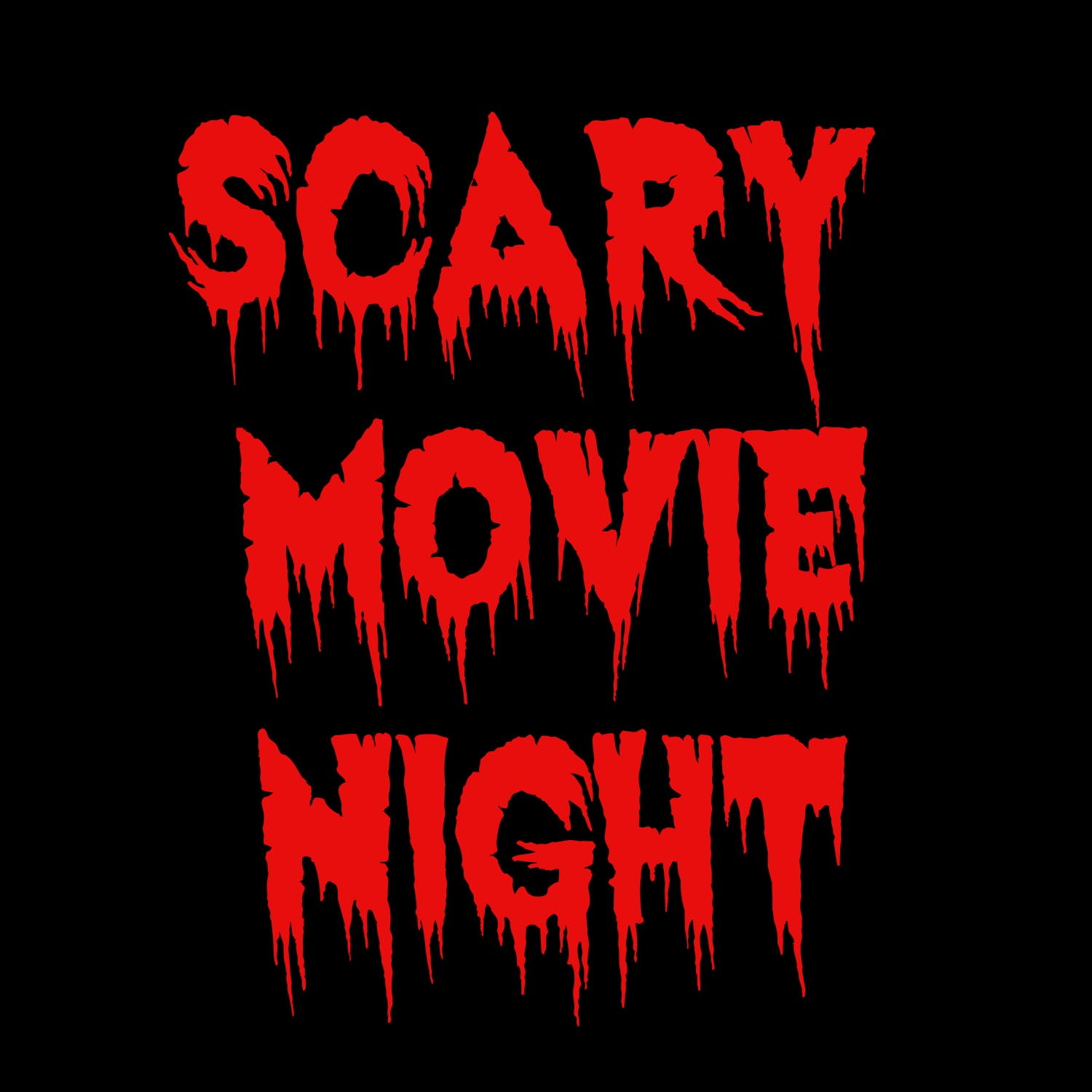 2018 - Scary Movie Night